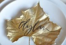 Creative Ideas / Creative ideas and DIY projects for your wedding.