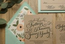Invitiations / Stationery / Wedding invitations and stationary.