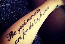 Tatt it on me. / by Brianna McGuffin