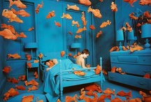 Fish In Art / A fairytale of fins.