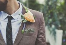 For the Guys / Wedding menswear, ties, boutonnieres, bow ties