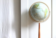Maps and Globes / by Andrea Gagne