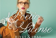 Poetic License / Calling all artists, poets and culture-bending creatives! Whatever your medium and message, the Poetic License frame inspires you to speak your truth. / by Rivet & Sway
