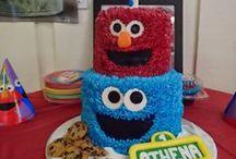 Sesame Street Birthday / Ideas for Athena's 1st Birthday Party