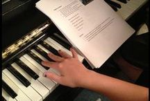 Music- Piano / by Ruthie Sheppard