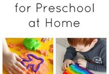 Preschool Resources / Use these great resources to help you plan fun and educational activities and games for your preschooler.