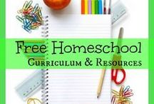 Homeschool Resources and Curriculum / Find all kinds of homeschool resources and information on curriculum to help you in your homeschool journey.