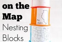 Geography Activities / Help your child learn all about the world we live in and the people who live here with these exciting and engaging geography activities and ideas.