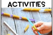 Fine Motor Activities / Help your child work on their fine motor skills with these fun games and activities.