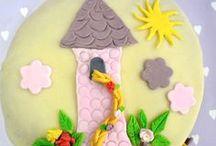 Birthdaycakes / Mooie taarten voor een verjaardag!