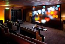 Cinéma / The cinema of the hotel Marignan Paris can be privatized for any kind of events... avant-première, seminars, meetings, etc... there are 20 seats on 10 sofas... Of course, you can watch your movies, films and documentaries or just pick in our video library