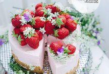 Eten : Cake with fruit