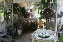Country Garden House / Garden Sheds and abundant Gardens
