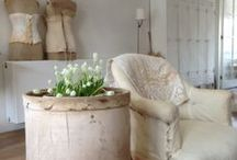 French-Nordic country style / French-Nordic and Swedish design & decor