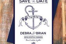 By the Sea - Nautical Wedding Ideas