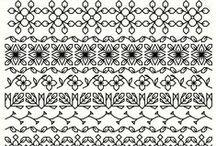 cross stitch blackwork