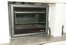 building fireplaces / materials , stone , works , montage