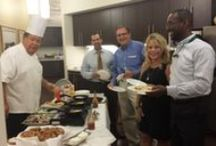 The Omelet Man - Office Event / Mimosas and omelets made to order.  What a sales meeting! / by Coldwell Banker Residential Brokerage | Georgetown