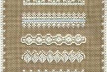 Bordados / Bordados en papel, tela, plástico, con: cualquier fibra.... / by Connie Rios