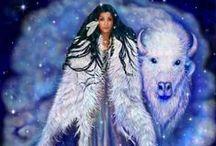 The divine goddess