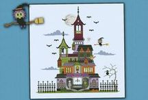 cross stitch halloween