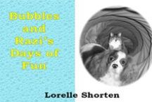 """""""Razi and Bubbles' Days of Fun"""" / Join the adventures of Razi the puppy and Bubbles the cat as they get up to fun and mischief together around their farmyard. These are children's stories I've written and made videos for. I hope you enjoy! Available to purchase as an ebook on Kindle via this link: http://amzn.to/1LL8S5W"""