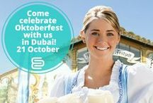 Oktoberfest Event | Oct 21 / We'll see you tomorrow at Oktoberfest! It's not too late to join us for a networking event with German buffet, live band, dancing, and more fun starting at 7PM at the Sheraton Jumeirah Beach Resort. More details here: http://bit.ly/1P7rCNP ‪#‎DubaiEvents‬ ‪#‎MagicofNetworking‬