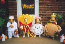 Doggie Costumes / There's nothing cuter than a dog in a Halloween costume. Pin now & use for inspiration for your pup later!