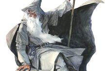 The Hobbit - Lord of the Ring / Concept art, bozzetti e illustrazioni tratte principalmente dai film dalla saga di Tolkien.
