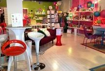 Mod Pod Inside / Our retail store is constantly changing! We love to show off our fun displays.