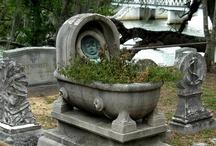 Gravestones and Sculptures / by Antique Photo Album