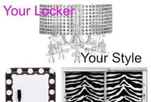 Stylin' Locker Looks / Your locker should be an expression of you! Get inspired and create your own space at school.