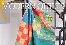 Modern Quilts Illustrated / Modern Quilts Illustrated is an advertisement-free magazine that takes a colorful and graphic approach to modern quilting. Available through ModernQuiltStudio.com and quilt shops internationally.