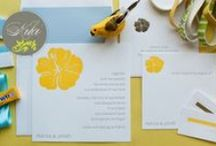 Destination Wedding Invitations Ideas / Great ideas for destination wedding and beach wedding invitations, announcements and more.  Here you'll find my favorite ideas for wedding invitations, wedding