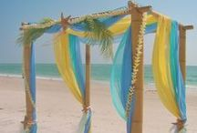 Colorful Wedding Canopies & Arches Ideas & Inspiration  / (... Colorful Wedding Canopies, Arches, Aisle & Chairs Ideas & Inspiration for your St. Thomas beach wedding or destination wedding...)