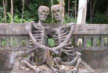 R.I.P.Cemeteries & Tombs & Graves & monuments / Funeral art.  / by Puerta de la Vera. Spain.