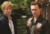 Tom H and Ben / Every funny photo related to Tom Hiddleston and Benedict Cumberbatch