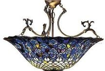 Tiffany & Stained Glass / I love Tiffany Lamps, I actually have 5 ... would love more ;)