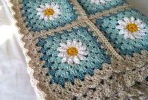 Crochet -  Blankets, Afghans & Granny Squares