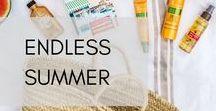 Endless Summer / Mit unseren Monoï-Produkten ist das ganze Jahr über Sommer.