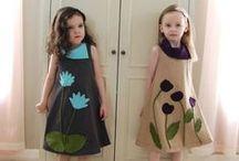 kids tyttöjen asut / kids muotia ja tehtyjä vaatteita ym. / by Tuula Kröger
