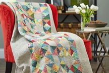 APQ Magazine / American Patchwork & Quilting has done an article with Weeks Ringle the past three years called 'Stash RX' featuring the best ways to use up your quilting stash and find ways to build a palette around a tricky or favorite fabric in a new way.