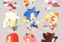 Sonic the hedgehog / Random sonic stuff sometimes super kawaii things, other times. Beautiful yaoi. •-•