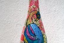 My bottle art / My handmades :)