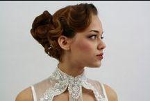 Bruid, Bride, Bridal, Wedding, Trouwen, Bruiloft / Bruidskapsels en visagie, romantisch en modern in elke stijl Bridal hairstyles and make-up, romatic and modern, every style possible