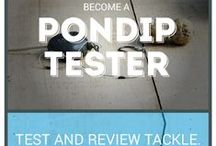 Pondip Testers / Become a Pondip Tester - Join our product testing team to test and review tackle.  Help shape the future of fishing. *** pondip.co.uk/tester ***