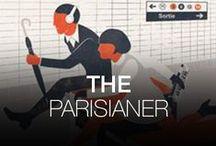 THE PARISIANER / The Parisianer est né de l'envie de deux illustrateurs parisiens de réunir un grand nombre d'artistes autour d'un projet : réaliser la Une d'un magazine imaginaire qui exprimerait leur vision subjective de Paris. En hommage aux couvertures du New Yorker, cet exercice de style présenterait un panel d'interprétations poétiques, éclectiques et surprenantes de la capitale.