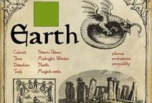 Earth (including metal & wood) / Ideas for exploring the human / nature connections of our life on earth.  Celebrating the land on which we live using earth based spiritual tools.