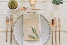 Table + Placing / Love entertaining and hosting close friends and family at home - planned or unplanned always a blessing