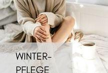 Winterpflege / So schön die kalte Jahreszeit ist, im Winter brauchen unsere Haut & Haare besondere Pflege! Hier teilen wir mit euch schöne Winter-Moods und besonders pflegende Produkte von uns. Enjoy! :)